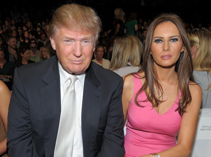Фото №8 - Неочевидная причина, почему Мелания вышла замуж за Дональда Трампа