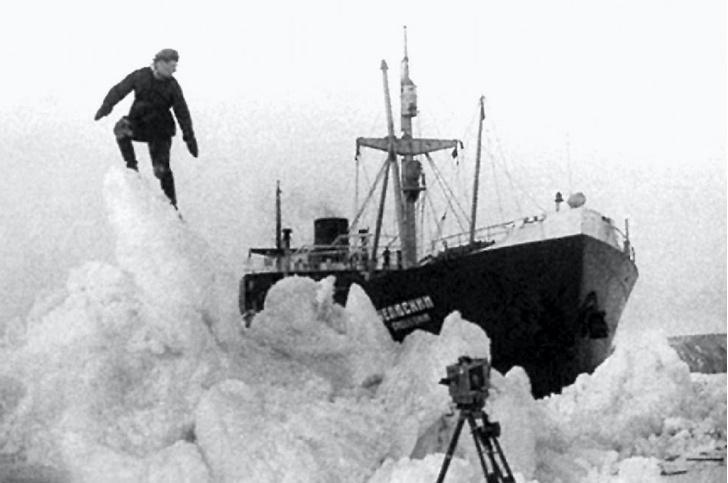 Фото №3 - Комплексная экспедиция РГО и Северного флота обследовала в Чукотском море затонувший пароход «Челюскин»