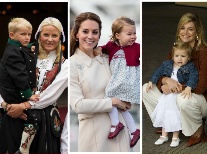 Фото №1 - Самые трогательные фото королевских мам с детьми