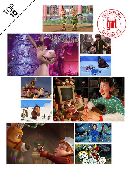 Фото №1 - Топ-10: Рождественские мультфильмы