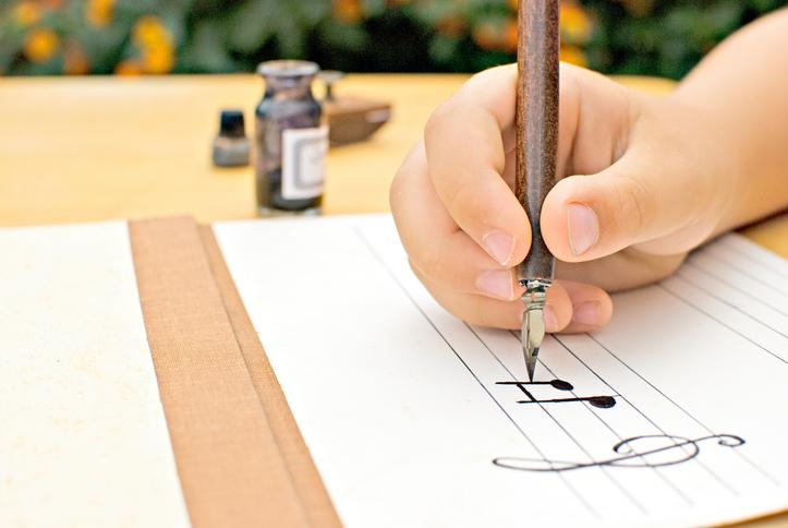 Фото №1 - Курсы каллиграфии для детей