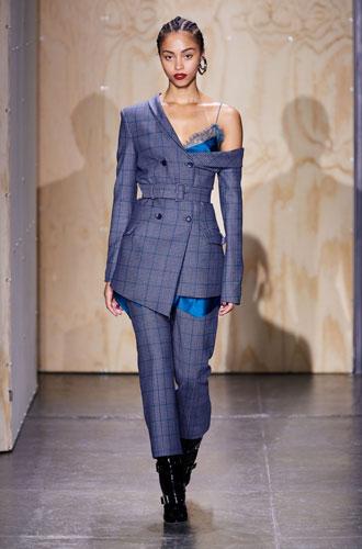 Фото №37 - От классики до сочных красок: лучшие костюмы с Недели моды в Нью-Йорке