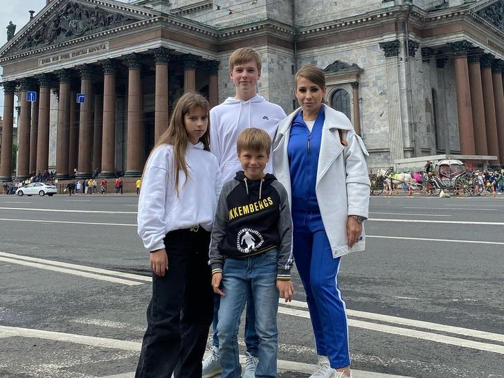 Дети Юлии Барановской