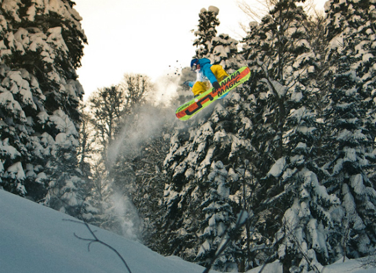 Фото №2 - Лучшие сноубордисты Росии борются за премию Russian Snowboard Awards 2012