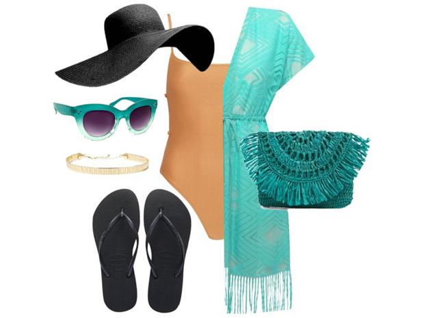 Фото №2 - Цвет настроения синий: отпускной гардероб в стиле Жасмин