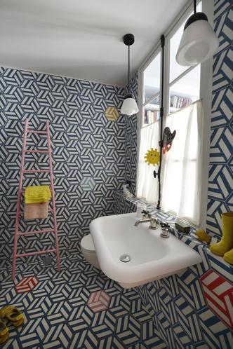 Фото №13 - Парижская квартира для творческой пары с двумя детьми