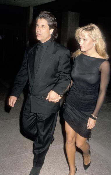 Памела Андерсон и Джон Питерс, 1989 год