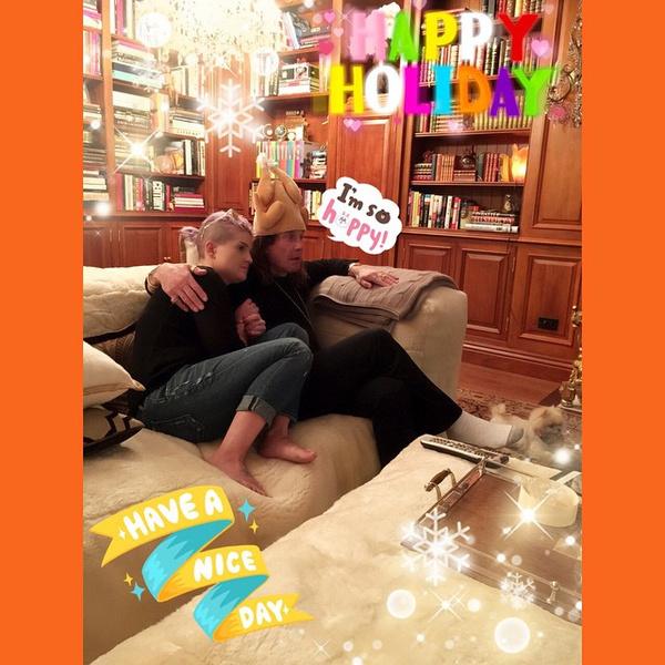 Фото №14 - Как знаменитости отпраздновали День благодарения