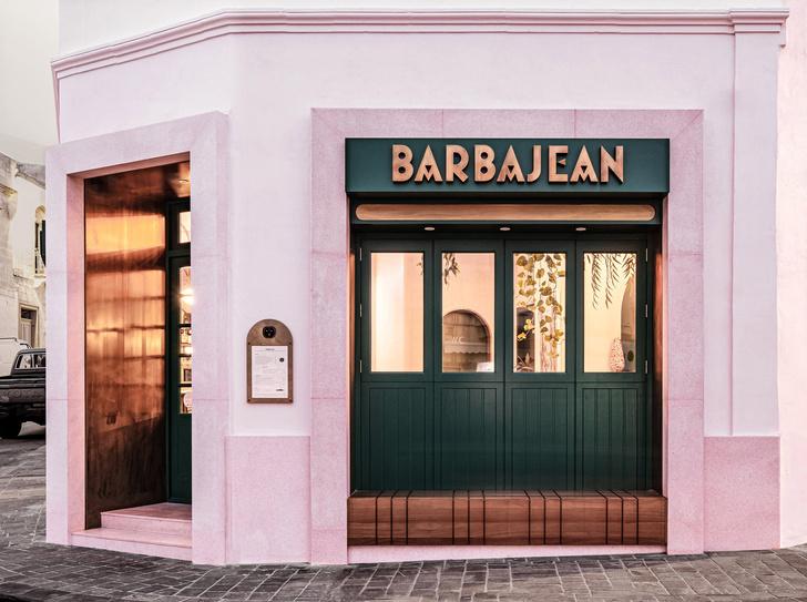Фото №1 - Розовый ресторан Barbajean на Мальте