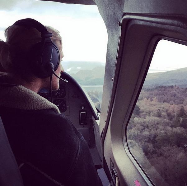 Фото №8 - Звездный Instagram: Знаменитости и самолеты