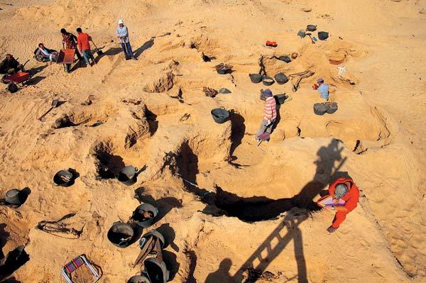 Фото №2 - Золото фаюмских мумий