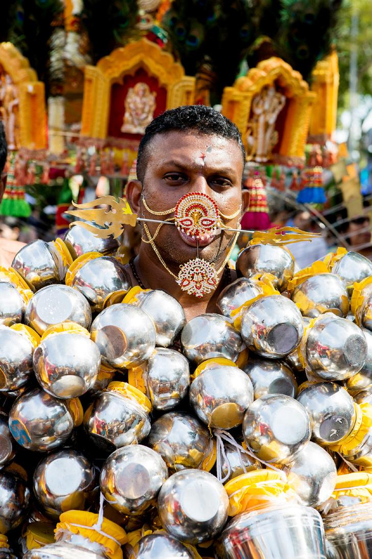 Фото №1 - Традиции: Тайпусам, Малайзия
