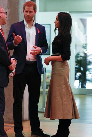 Фото №11 - Меган Маркл и принц Гарри начали свой тур по Великобритании
