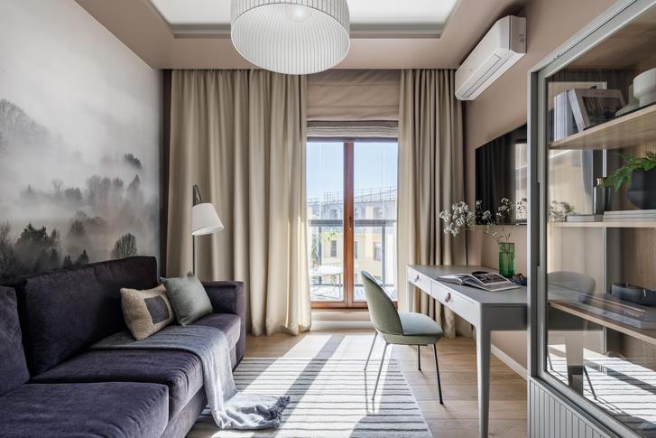 Фото №10 - Светлая квартира 105 м² в центре Санкт-Петербурга