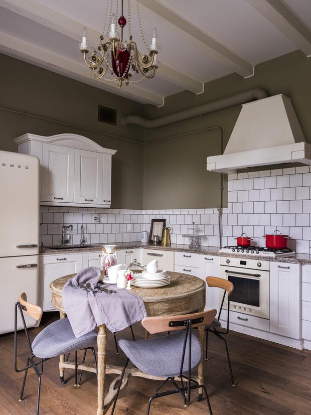 Фото №8 - Тренды 2020: кухня в винтажном стиле