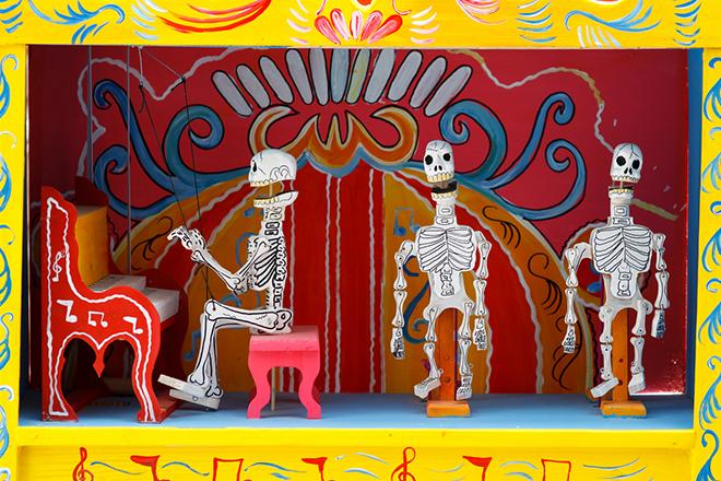 Фото №3 - Уйти красиво: удивительные погребальные обряды Испании, Бали и Мексики