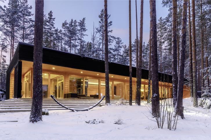 Фото №1 - Финский уют: дома из бруса Lumi Polar