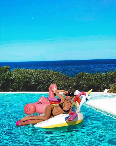 Фото №4 - Лобода надела удачный купальник, увеличивающий грудь