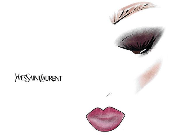 Фото №5 - Праздник зовет: три варианта макияжа по цвету глаз от визажиста YSL
