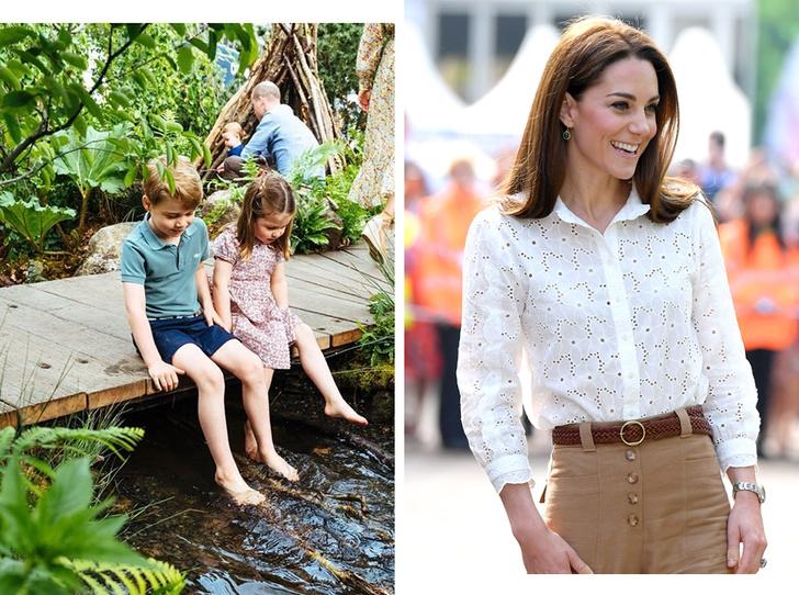Фото №1 - Что думает принц Джордж о новом проекте герцогини Кейт