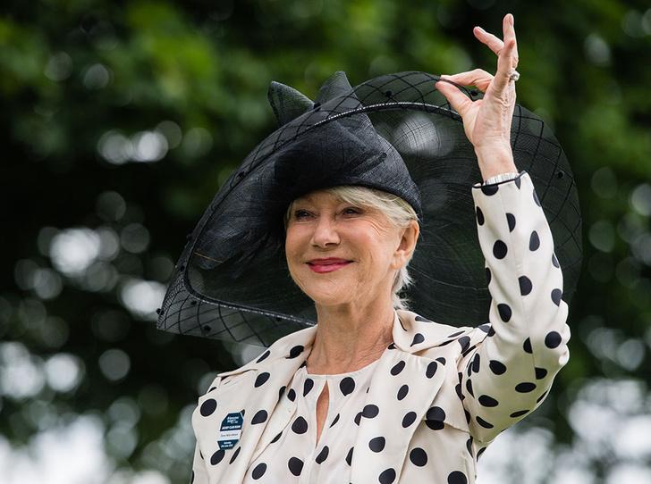 Фото №1 - Королева Хелен Миррен: 5 секретов стиля голливудской кинодивы