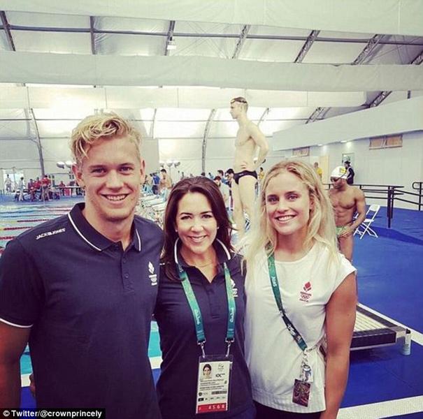 Фото №8 - Королевская семья Дании на Олимпиаде-2016 в Рио