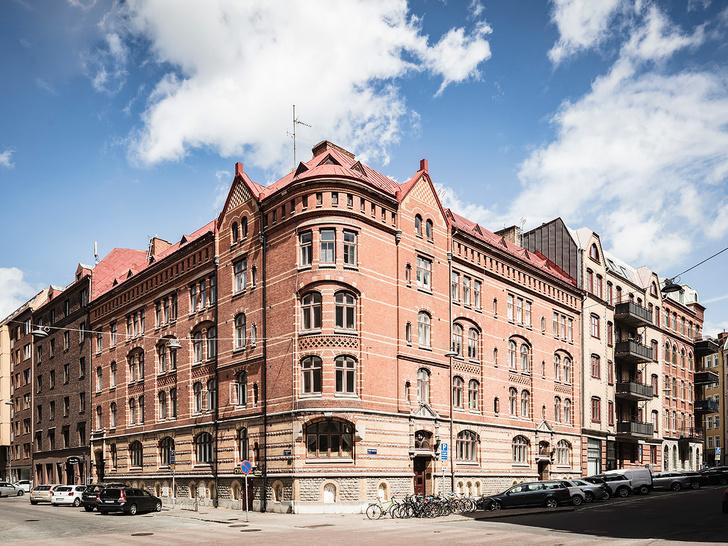 Фото №1 - Уютная скандинавская квартира с микро-спальней в Гетеборге