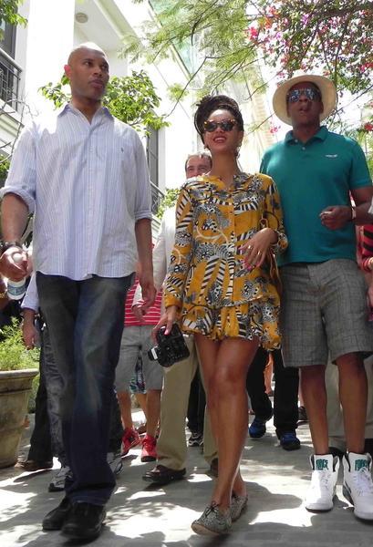 Бейонсе и Джей-Зи на Кубе