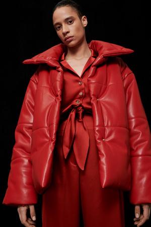 Фото №4 - Lady in red: Nanushka представили коллекцию в честь Китайского Нового года