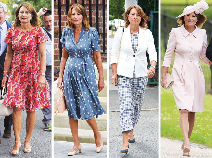 Фото №1 - Гардероб Кэрол Миддлтон: как одевается мама герцогини Кембриджской