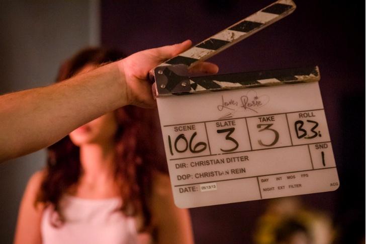 Съемки фильма «С любовью, Рози»