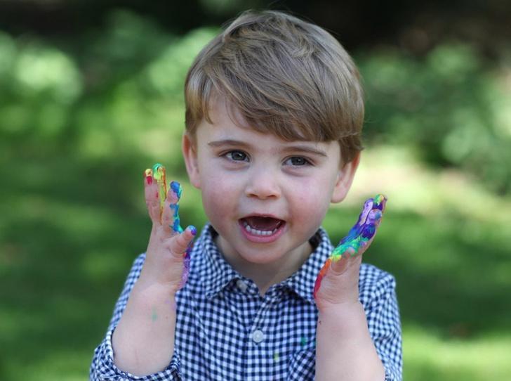 Фото №1 - Опасная привычка принца Луи, которая беспокоит его родителей