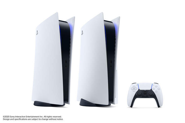 Фото №1 - Sony официально представила дизайн PlayStation 5 и показала первые игры