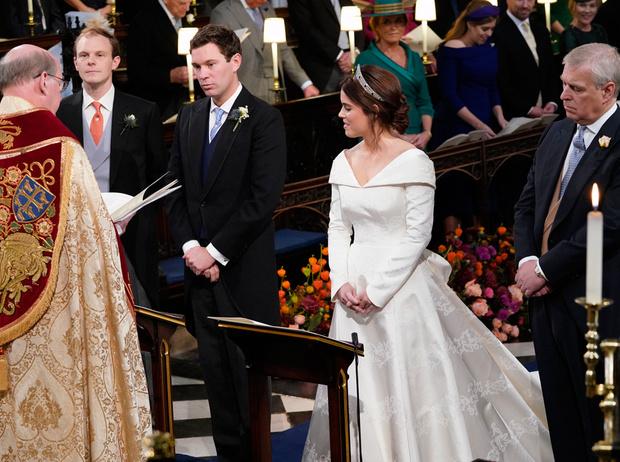 Фото №2 - Интересные факты о свадьбе принцессы Евгении и Джека Бруксбэнка