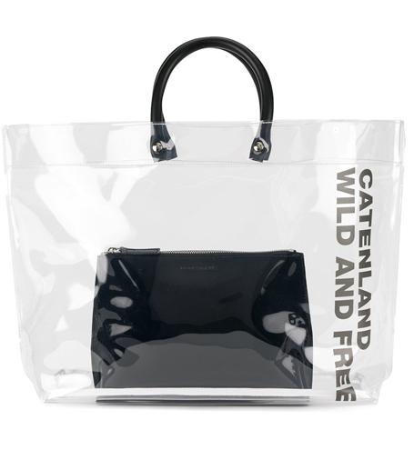 Фото №18 - Life in Plastic: как носить пластиковые вещи этой весной