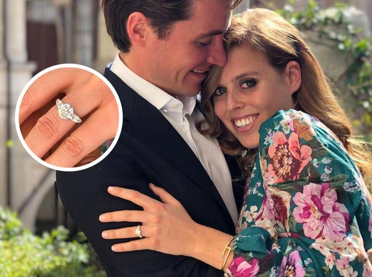 Фото №1 - Что известно о помолвочном кольце принцессы Беатрис