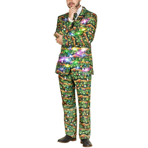 Фото №1 - Пришло время блистать: в продаже появился рождественский костюм с подсветкой
