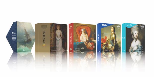 Фото №1 - Procter&Gamble и Эрмитаж выпустили подарочные наборы