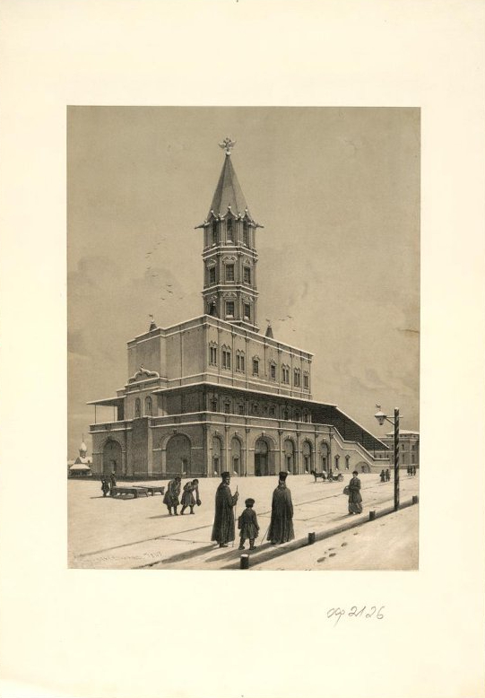 Фото №1 - Выставка «Миф о Сухаревой башне» в Центре Гиляровского