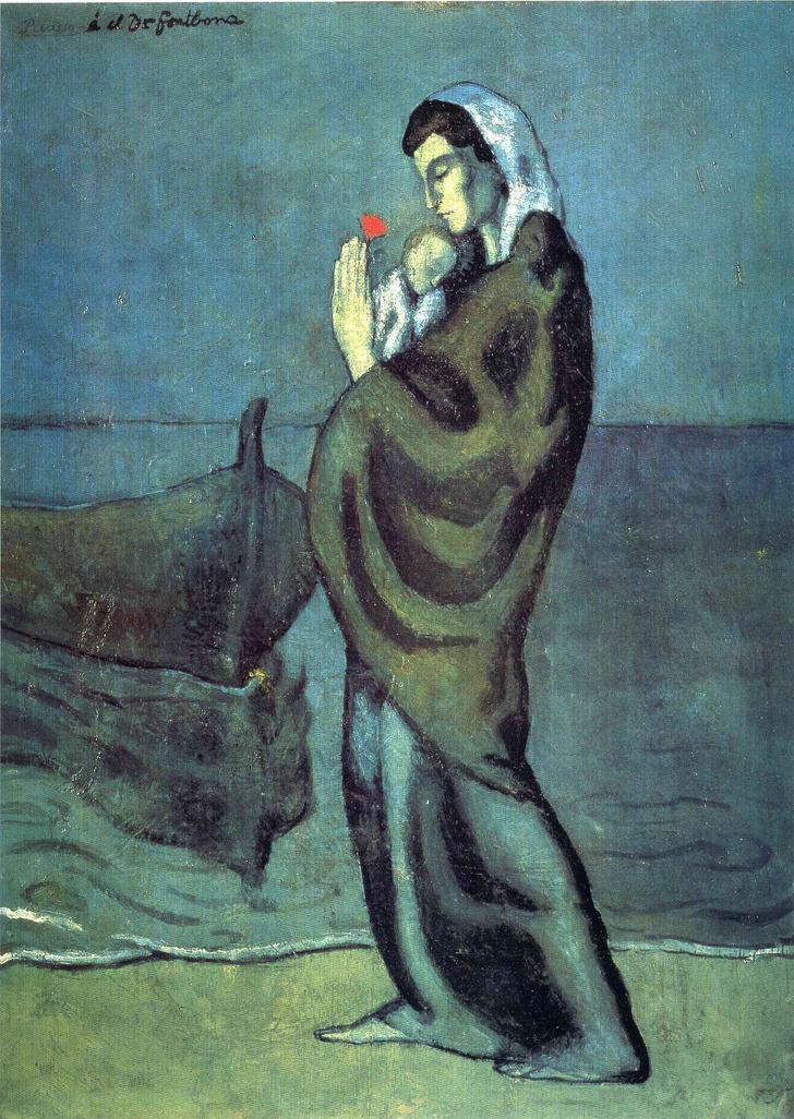 Фото №1 - Картина Пикассо раскрывает свои тайны