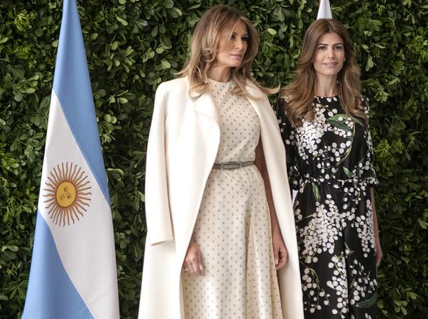 Фото №17 - G20 в Аргентине: самые яркие модные выходы Первых леди