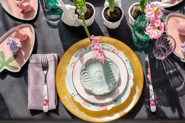Фото №14 - Украшаем стол к Пасхе: идеи декора от Анны Муравиной