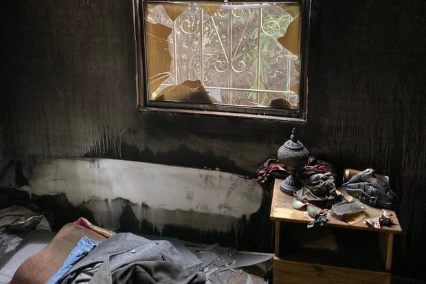 Фото №2 - До слез: пес погиб, спасая хозяина из пожара