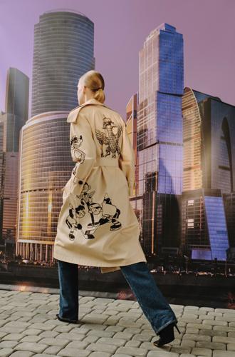 Фото №5 - Мода как искусство: принты каких художников можно найти в коллекции Aizel x Team Putin