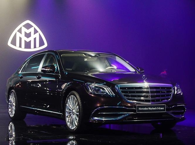 Фото №2 - Mercedes представил обновленные модели S-Класса
