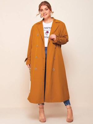 Фото №1 - 20 идеальных осенних пальто для полных женщин