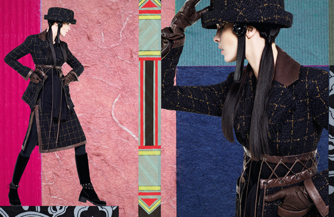 Фото №12 - Коллажи Карла Лагерфельда: креативная кампания Chanel FW 16/17