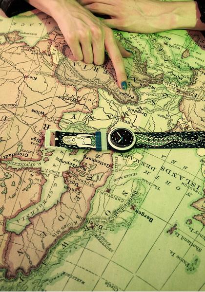 Фото №2 - Swatch и Бриана Фитц-Джеймс Стюарт выпустили модель Melusine