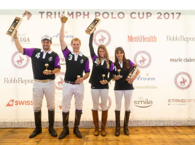 Фото №7 - Россия и Швейцария, спорт и искусство – Triumph Polo Cup