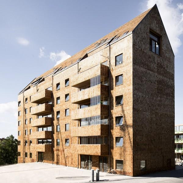 Фото №2 - В Швеции построили полностью деревянную восьмиэтажку (фото)